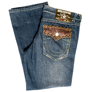 True Religion BILLY SUPER T Jeans Size 40 #00371